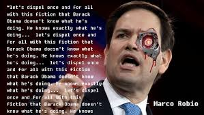 Rubio Meme - let s dispel with this fiction rubio robot know your meme