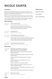 Sample Resume Of Nursing Assistant Nursing Aide Resume Nursing Aide Assistant Healthcare Physical