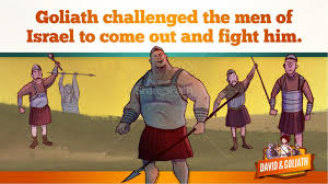 david and goliath story for toddlers
