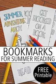free printable halloween bookmarks free printable bookmarks for summer reading