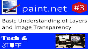 basic understanding of layers and image transparency paint net
