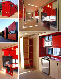 Container Home Interior 40 Foot Cargo Containers Into Stylish Small Home Spaces