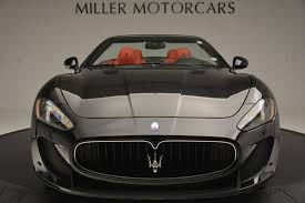 maserati granturismo 2013 2013 maserati granturismo mc stock 7081 for sale near westport