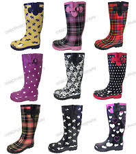 womens wellington boots size 9 rubber boots for ebay