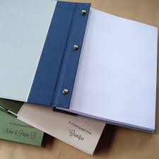 easy custom post album refillable pages post bound