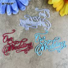 our wedding scrapbook new design our wedding scrapbook cutting dies metal die cutting