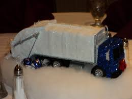 new england fine living glitter truck centerpieces for a