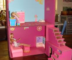 Barbie Dream Furniture Collection by Dollhouse From Boxes And Cardboard 5 Steps