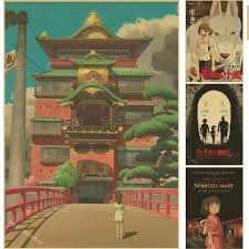 Chinese Home Decor by Popular Posters Hayao Miyazaki Buy Cheap Posters Hayao Miyazaki
