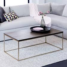 west elm concrete side table streamline coffee table west elm