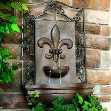 wall ideas large outdoor wall fountains large outdoor wall water