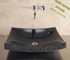 black stone bathroom sink swan stone sinks black granite stone cut out from one piece stone