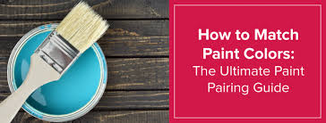 how to match paint colors in your home home paint pairing guide