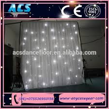 acs star light curtains wedding wedding stage decoration led