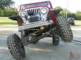 jeep rock crawler flex cj 7 jeep rock crawler