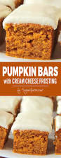 pumpkin bars with cream cheese frosting sugar apron