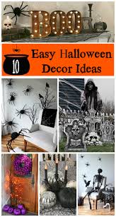 ten easy halloween decor ideas for your home