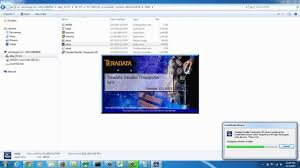 teradata tpt installation on windows youtube