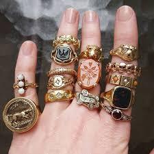 golden hand ring holder images 232 best ring fever images gold rings dainty ring jpg
