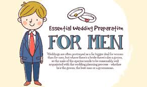 wedding preparation for essential wedding preparation for men infographic visualistan