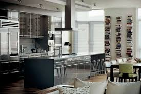 Luxury Kitchen Island Designs by Rack And Glass Door Also Luxury Kitchen Island With Marble Counter