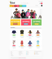 baby store responsive shopify theme 52259