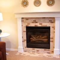 Porcelain Tile Fireplace Ideas by Accessories Comely Decoration Ideas With Painting Tile Around