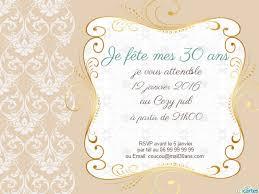 anniversaire de mariage 30 ans carte invitation anniversaire de mariage 30 ans gratuite