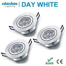 3 inch recessed lighting buy chichinlighting 3 pack 3 inch led recessed lighting led