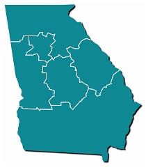State Map Of Georgia by Georgia Historic Newspapers