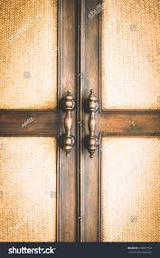 old rustic door latch on wooden stock photo 609877553 shutterstock