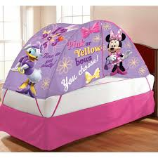 Privacy Pop Bed Tent Minnie Mouse Bed Tent With Pushlight Walmart Com