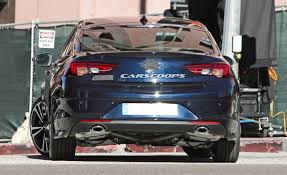 opel insignia wagon trunk all new 2017 opel insignia spied undisguised previews new buick