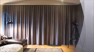 Motorized Drapery Rods Somfy Glydea Motorized Curtain Draperies Youtube