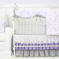 Lavender And Grey Crib Bedding Grey And Lavender Crib Bedding Home Inspirations Design Toile