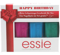 essie happy birthday set of 3 nail polishes too taboo strut your