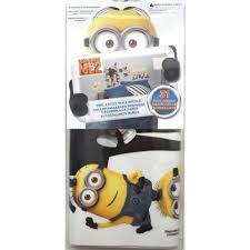 despicable me 2 peel and stick wall decals toys