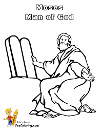 moses coloring pages 11329 in bible fleasondogs org