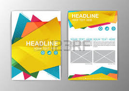 abstract background polygon design business corporate brochure