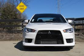 mitsubishi grand lancer 2015 mitsubishi lancer evolution final edition first drive review