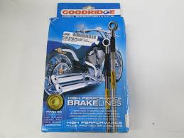 goodridge harley davidson flht electra glide brake line kit hd0033