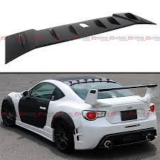 subaru roof spoiler for 2013 2016 subaru brz scion frs jdm rear roof aero vortex