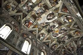 visiting the sistine chapel