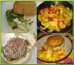 cuisiner courgette jaune hamburger chèvre miel avec des courgettes jaune et tomates les