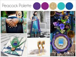 peacock wedding theme peacock theme wedding color palette ideas