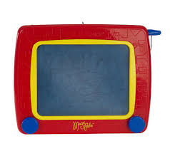 etch a sketch 2 in 1 draw u0026 doodle magic pad drawing toy page 1