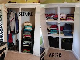 shelving in my built in closet diy project aholic