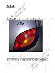 7 ford ka a case compact car car