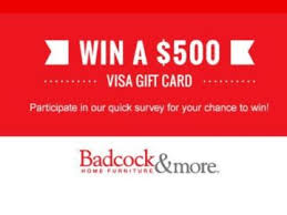 win gift cards badcock home furniture more win a 500 visa gift card sweepstakes
