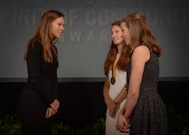 two alaska youth honored for volunteerism at national award